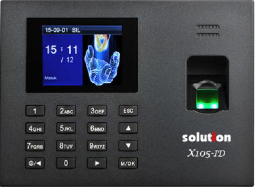 Mesin Absensi & Akses Door Solution X105-ID
