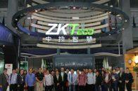 Kunjungan Absensidikjari.com ke pabrik ZK Teco